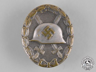 Germany, Wehrmacht. A Wound Badge, Silver Grade, by the Official Vienna Mint