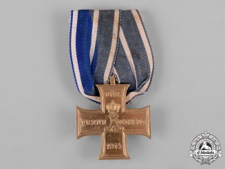 Schaumburg-Lippe, Principality. A 1914 Faithful Service Cross