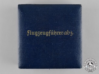 Germany, Luftwaffe. A Pilot's Badge Case of Issue