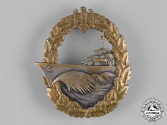 Germany, Kriegsmarine. A Destroyer War Badge