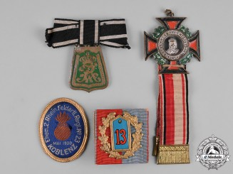 Germany, Imperial. A Lot of Regimental Badges