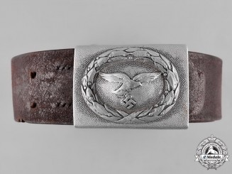 Germany, Luftwaffe. An EM/NCO's Belt and Buckle