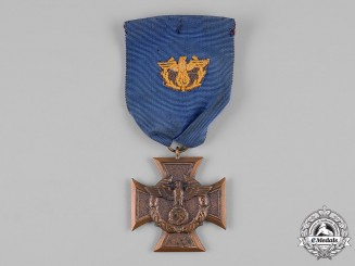 Germany, Third Reich. A Customs and Border Protection Long Service Award in Bronze