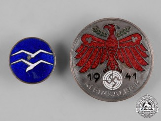 Germany, Third Reich. A Pair of Proficiency Badges