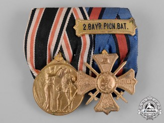 Germany, Imperial. A First War Period Medal Pair, by J. Reimann