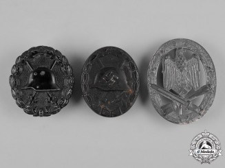 Germany, Wehrmacht. A Lot of First and Second War Period Badges