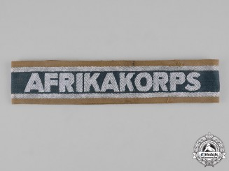 Germany, DAK. A German Afrika Korps Campaign Cuff Title
