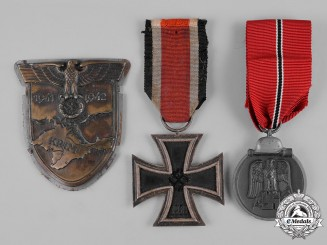 Germany, Wehrmacht. A Group of Wehrmacht Decorations