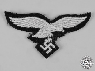 Germany, Luftwaffe. A 1st Fallschirm-Panzer Division Hermann Göring EM/NCO's Breast Eagle