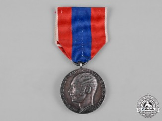 Schaumburg-Lippe, Principality. A Merit Medal, Silver Grade
