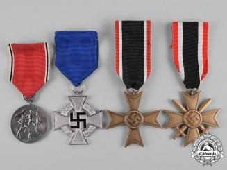 Germany, Wehrmacht. A Lot of Second War Period Medals