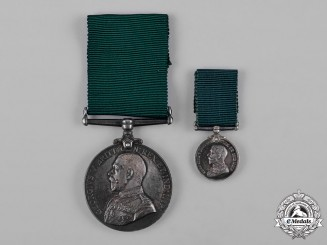 Canada. A Colonial Auxiliary Forces Long Service Medal, Major Charles James Ingles DSO