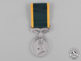 Canada. An Efficiency Medal, Trooper Cosimo Damiano Lattrulo, Governor General's Horse Guard