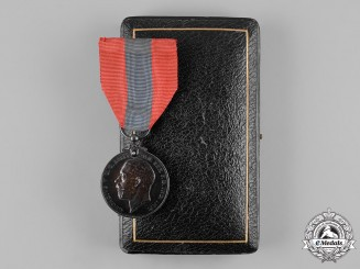 United Kingdom. An Imperial Service Medal, to John William Harris