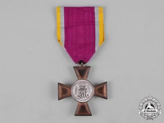 Mecklenburg-Schwerin, Grand Duchy. A 12-Year Long Military Service Cross