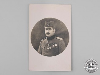 Yugoslavia, Kingdom. A Photograph of a Royal Yugoslav Army Officer