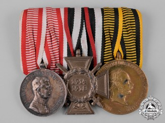 Austria, Republic. An Austrian Medal Bar