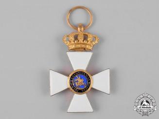 Spain, Kingdom. A Royal & Military Order of St. Hermenegild, Gold Cross, c.1910