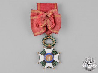Spain, First Restoration. A Royal & Military Order of St. Ferdinand in Gold, Officer's Cross, c.1820