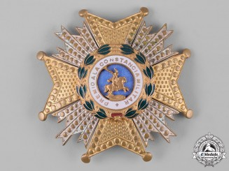 Spain, Franco Period. A Royal and Military Order of St. Hermenegild, Commander's Star, c.1950