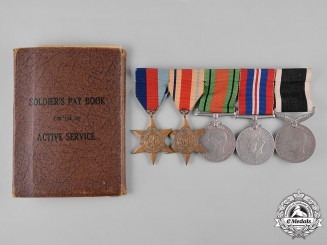 New Zealand. A Group of Five to Lance Corporal Egan, II New Zealand Expeditionary Force