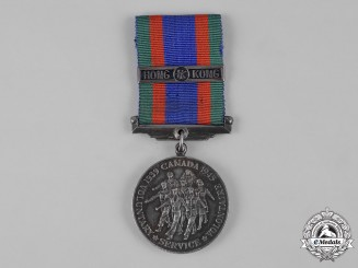 Canada. A Canadian Volunteer Service Medal with Honk Kong Clasp