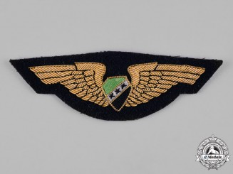 Syria, Republic. An Air Force Pilot Badge