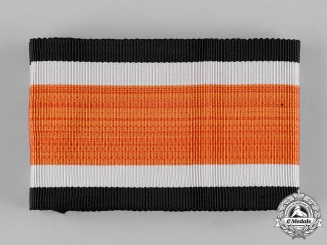 Germany, Third Reich. An Early, Unissued Full Length Ribbon for the Knights Cross of the Iron Cross