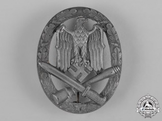 Germany, Wehrmacht. A General Assault Badge, Hollow Version