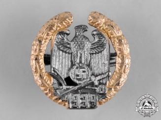 Germany, Third Reich. A Rare Miniature Gau Warthe Badge