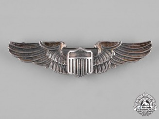 United States. A Second War Army Air Forces Pilot Badge, by Amico