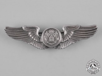 United States. A Second War Army Air Forces Aircrew Badge, by Meyer