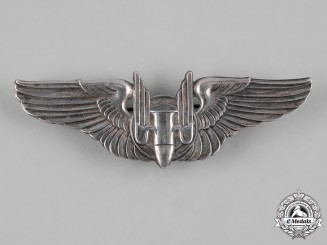 United States. A Second War Army Air Forces Aerial Gunner Badge