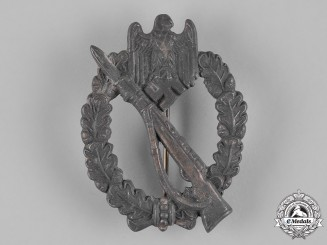 Germany, Wehrmacht. An Infantry Assault Badge, Silver Grade, by Rudolf Souval