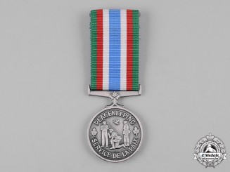 Canada. A Canadian Peacekeeping Service Medal