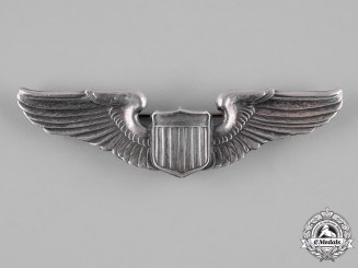 United States. An Army Air Forces Pilot Badge, by A.E. Co.