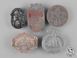 Germany, Third Reich. A Lot of Third Reich Period Commemorative Badges