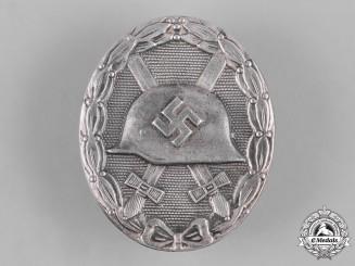 Germany, Wehrmacht. A Wound Badge, Silver Grade, by Eugen Schmidthäussler