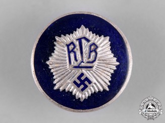 Germany, Third Reich. A RLB Officer's Badge, by H. Aurich