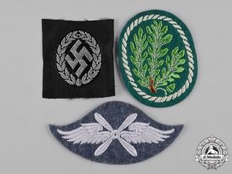 Germany, Third Reich. A Lot of Uniform Cloth Insignia