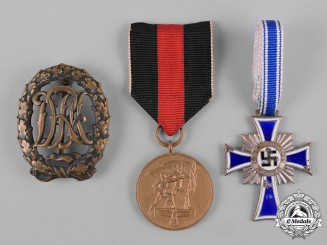Germany, Third Reich. A Lot of Third Reich Badges and Medals