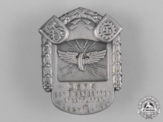 Germany, Third Reich. A 1934 Essen Railway Workers Badge