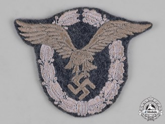 Germany, Luftwaffe. A Pilot Badge, Cloth Version