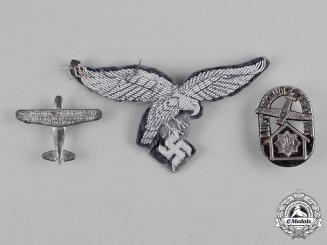 Germany, Third Reich. A Lot of Third Reich Cloth and Metal Insignia