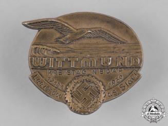 Germany, NSDAP. A Wittmund Kreistag NSDAP Badge, by Paulmann & Crone, c.1939
