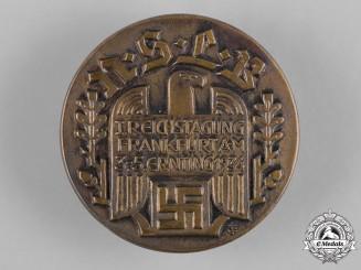 Germany, NSLB. A 1934 National Socialist Teachers League Frankfurt Badge