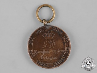 Prussia, State. A Napoleonic War Merit Medal for 1814