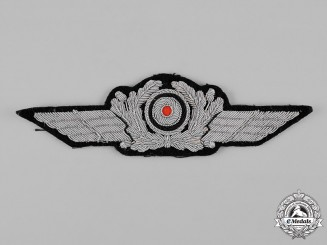 Germany, Luftwaffe. A Officer's Visor Cap Insignia