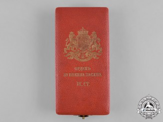 Bulgaria, Kingdom. An Order of Military Merit, IV Class Officer Case