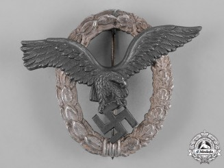 Germany, Luftwaffe. A Pilot's Badge by Gebrüder Schneider